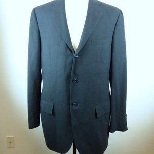 Polo Ralph Lauren Italy black cashmere blazer 42L